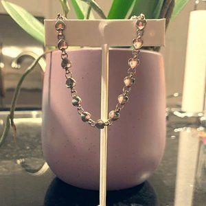 RETIRED Tiffany & Co. Chain of Hearts Bracelet